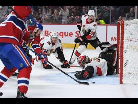 Games 34-What's a shot?-Ottawa Senators vs Montreal Canadiens 2018-19