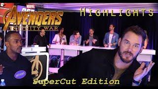 Avengers Family Feud Highlights // Avengers Infinity War Cast Super Cut