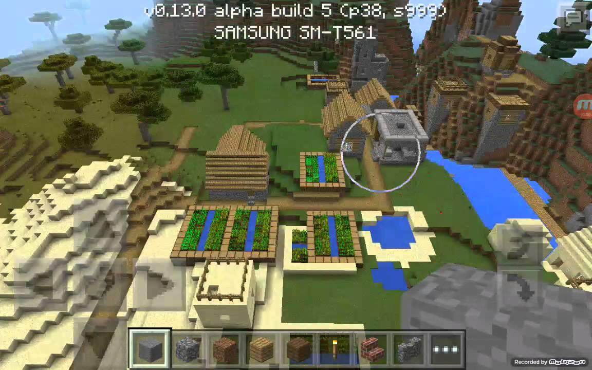 сиды с деревнями на майнкрафт 0.13.0 #6