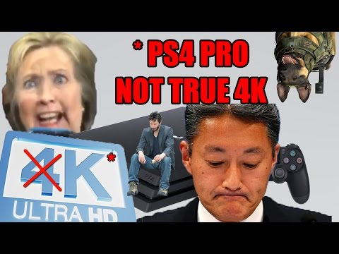 Microsoft: PS4 Pro Can't Do TRUE 4K - Sony Responds to Misleading - Xbox One Scorpio is 4K Console