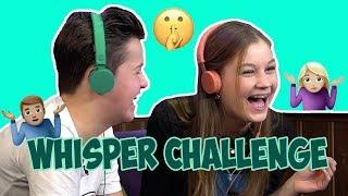 #62 WHISPER CHALLENGE 2.0 🤷🏽♂️🤷🏼♀️ | JUNIORSONGFESTIVAL.NL🇳🇱