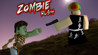 ROBLOX Zombie Rush Funny Moments ( I LOST MY VOICE!!