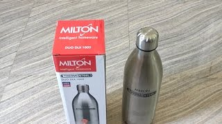 Milton Thermosteel Duo Deluxe, 1 Litre review.