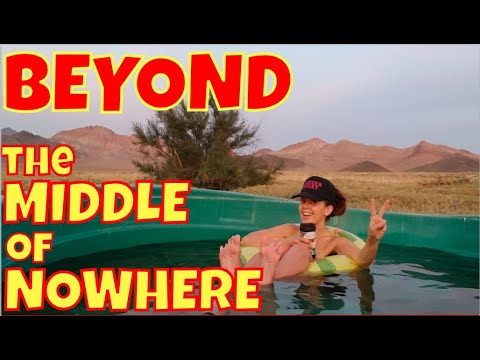 Beyond The Middle Of Nowhere: Camping Solo At An Ultra-Desolate Nevada Hot Spring