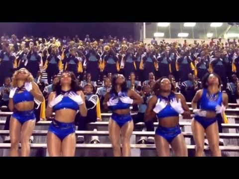 """Southern University Marching Band an Dolls """"Holy Grail"""" 2013-2014"""