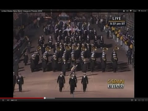 United States Navy Band: Inaugural Parade 2009