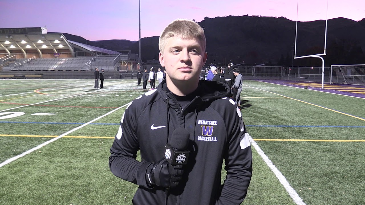 Wenatchee Running Back Nate Blauman on Sticking With It 2019-11-01