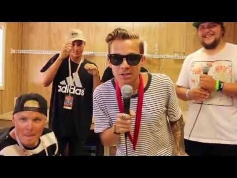 BROADSIDE Interview: Band Chats influences, Warped Tour 2016 and have an Arm Wrestling Match