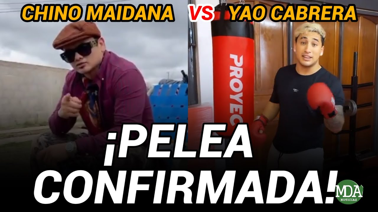 Download EL CHINO MAIDANA confirmó que PELEARÁ contra YAO CABRERA