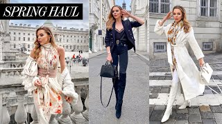 ZARA & MANGO HAUL & TRY ON /  NEW IN Winter Spring Transitional Pieces!