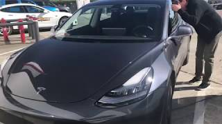 First Look - Tesla Model 3 Serial Number 3 SN3