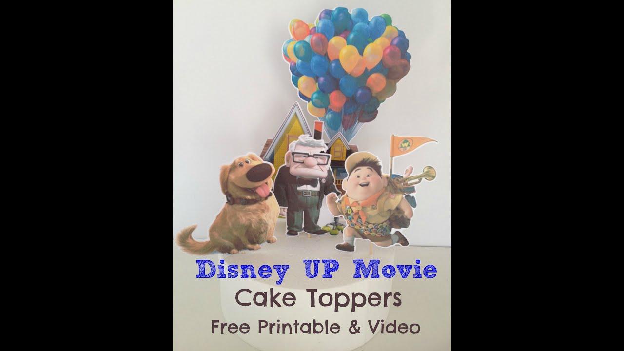 Disney Pixar Up Birthday Cake