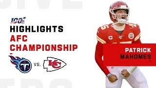 Download Patrick Mahomes Carries Chiefs to the Super Bowl   NFL 2019 Highlights Mp3 and Videos