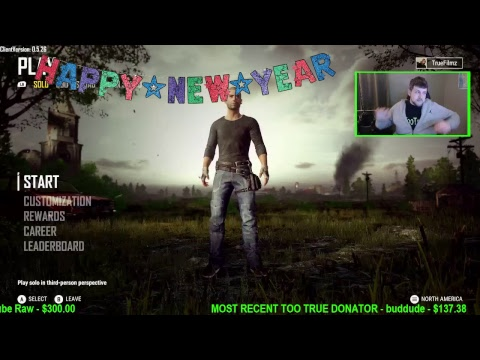 HAPPY NEW YEAR! 2018 PUBG CHICKEN DINNERS! XBOX ONE X GAMEPLAY