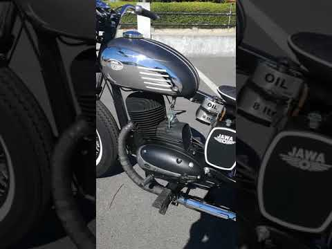 Jawa 250cc Bobber Sound