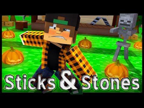 "♫""Sticks & Stones"" - Minecraft Original Music Video -2017"