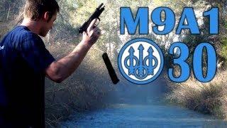 Beretta M9A1, 30 round Beretta mag