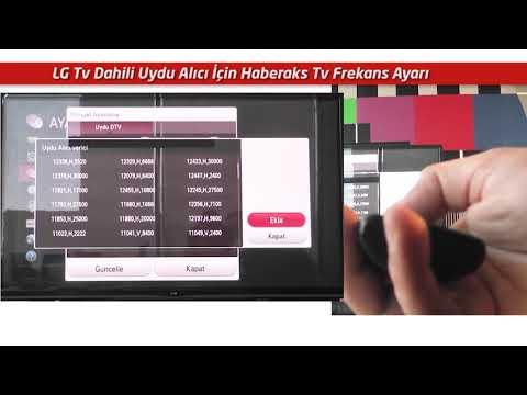 Frekans Nasıl Ayarlanır 7   LG Tv