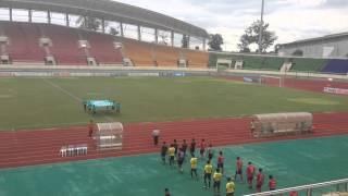 2014/7/26 Laos League 最終節 伊藤壇選手プレー集