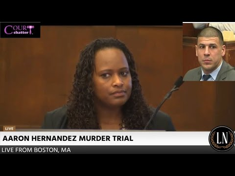 Aaron Hernandez Trial Day 1 Part 1 (Victims' sisters testify) 03/01/17