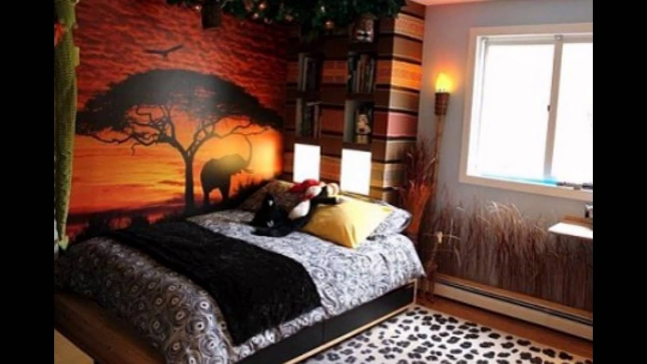 Forest Themed Bedroom Ideas Inspiration - Unique Relaxing ...