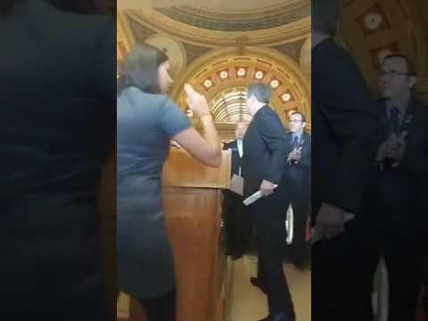 Senator Steve Daines Capital News Conference 2/22/17