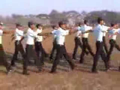 Drill Training Private Security, Boko Training Centre Assam
