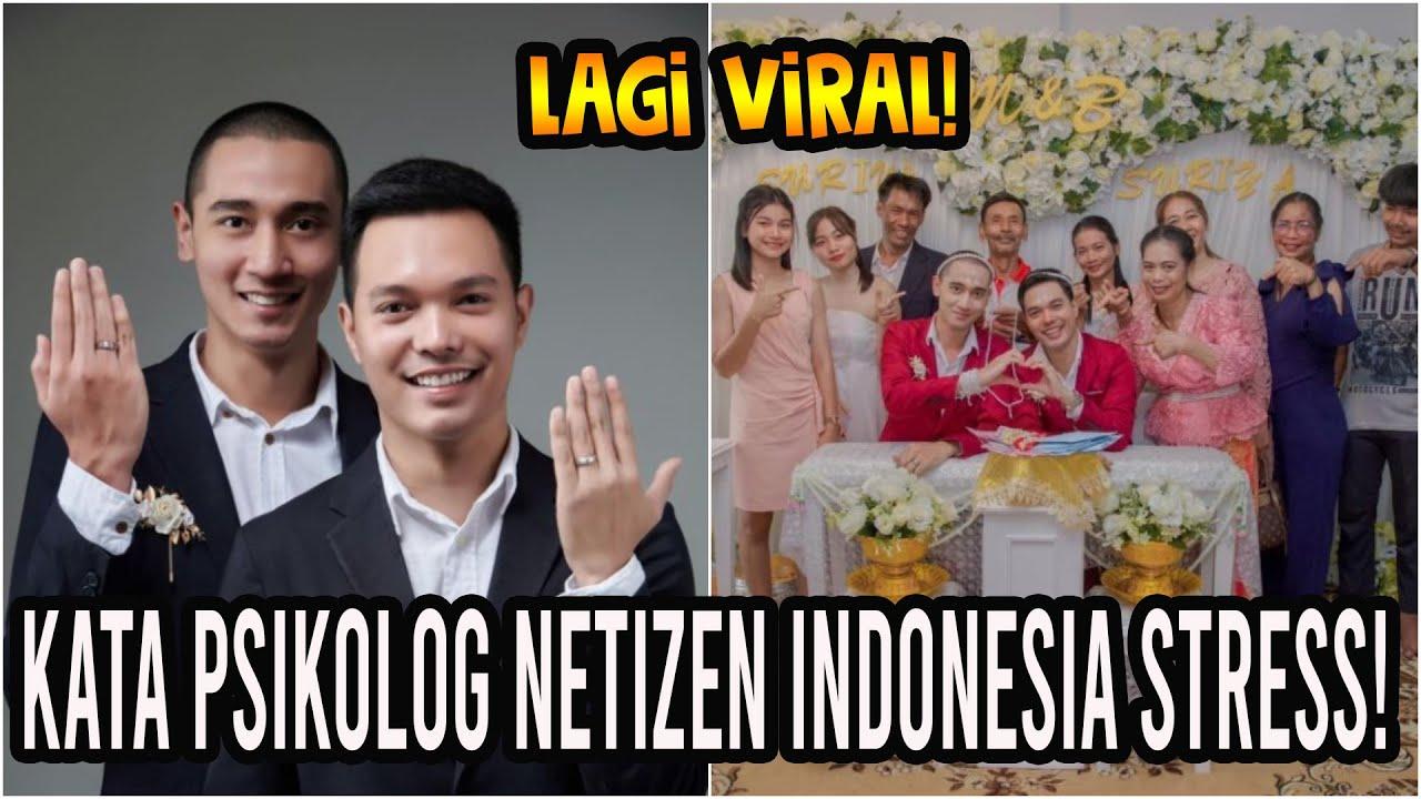 Pasangan Gay Thailand Diserang & Diancam M4TI Oleh Netizen Indonesia! Sewa Pengacara!