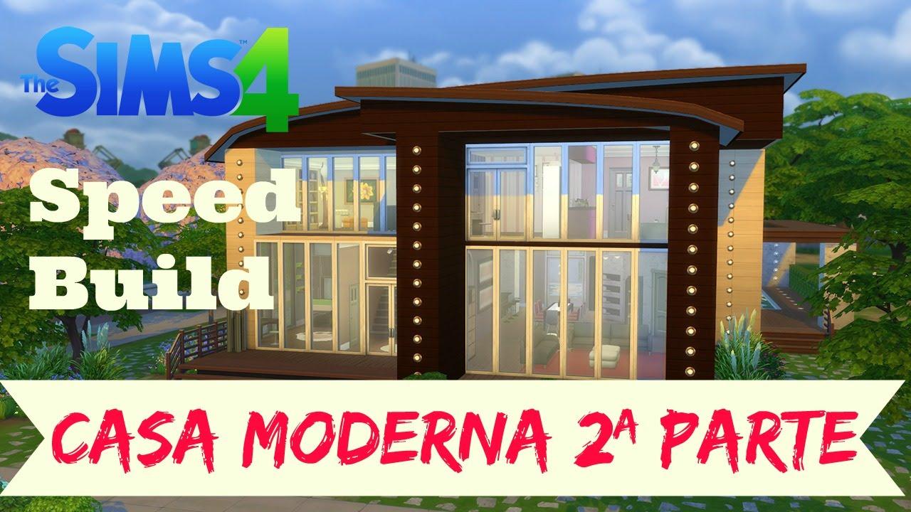 Sims 4 speed build casa moderna com conte do for Sims 4 modelli di casa moderna