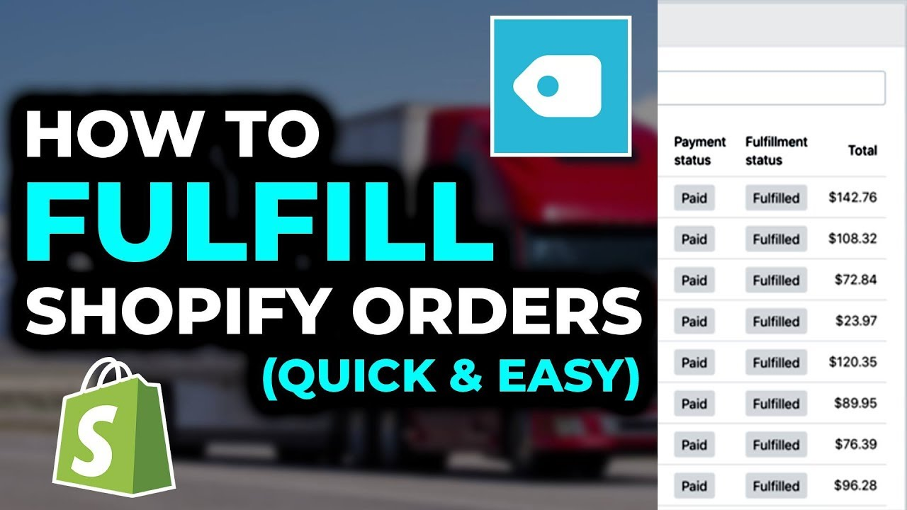 How To QUICKLY Fulfill Shopify Aliexpress Orders With Oberlo 2019 | FULL  Dropshipping Tutorial