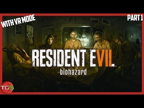 Resident Evil 7 biohazard - First impressions in VR & non VR