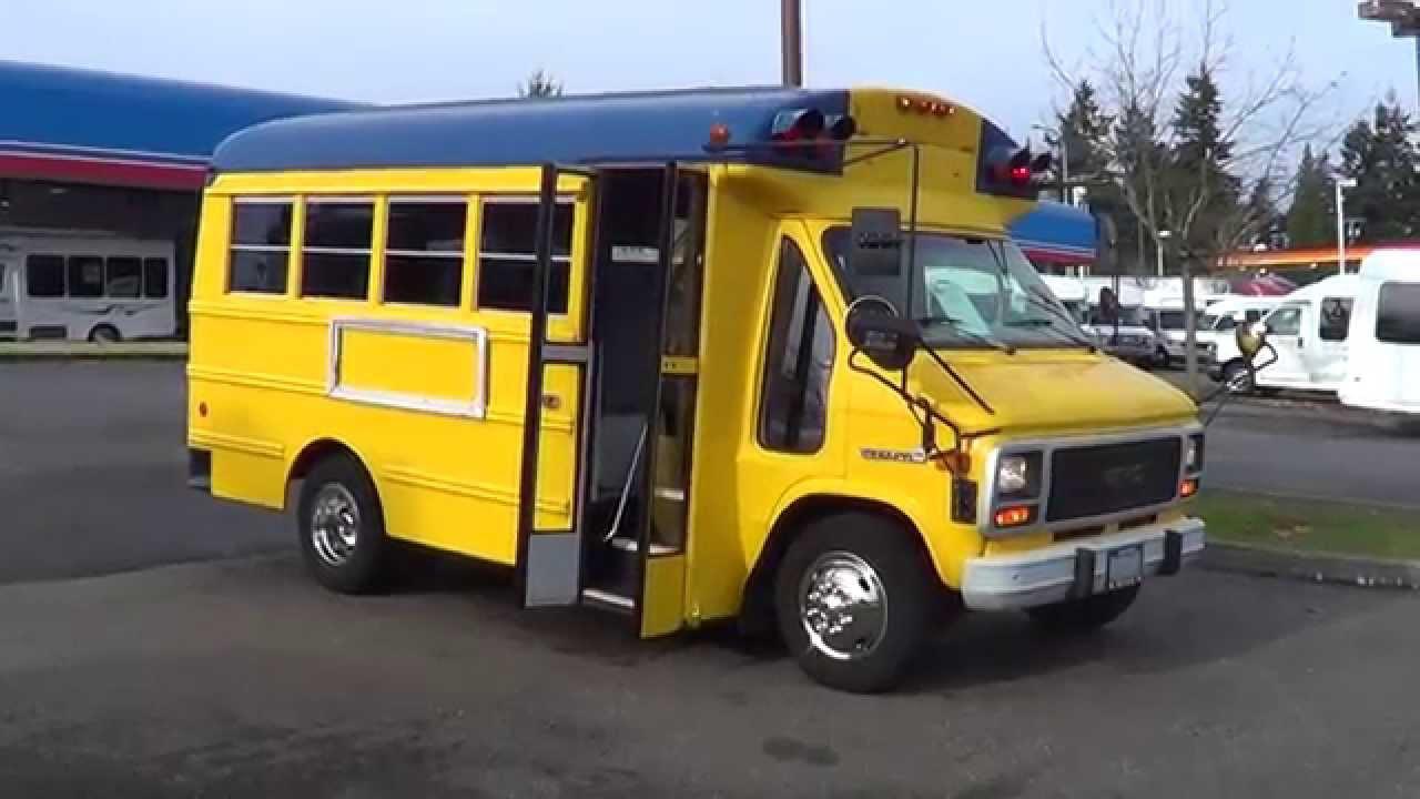 Northwest Bus Sales Used 1994 Gmc Thomas Mfsab 14