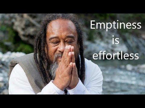 Mooji Gudided Meditation - Emptiness is effortless