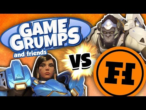 Game Grumps v. Funhaus in Overwatch!