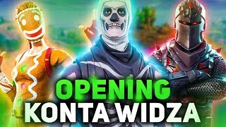 OPENING ACCOUNT OF MY FORTNITE VIEWER! | 200 SKINS + | Rarest!! | SHOCK