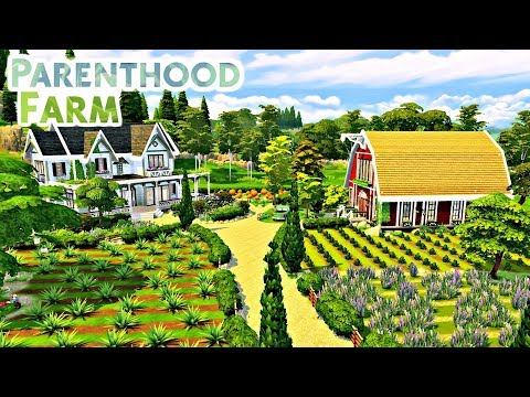 The Sims 4 - PARENTHOOD FARM | Speed Build