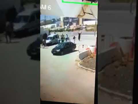 فيديو يوثق الاعتداء على مركز الجيارة 1  - نشر قبل 2 ساعة