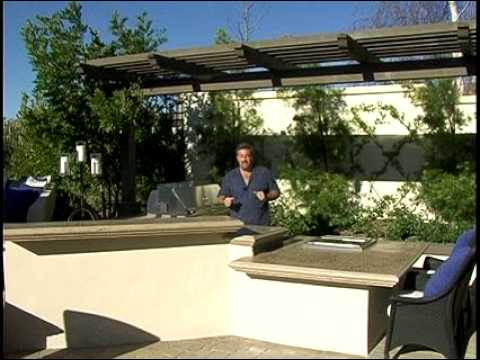 Outdoor Kitchen - Design Sizing & Configuration