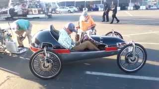 4000 Watt electric car with 4 wheel drive. Maker Faire 2014
