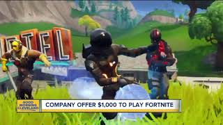 Get your dream job playing Fortnite