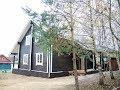 99723 Теплый дом из бруса в жилой деревне рядом с Истрой Волоколамское шоссе 39 км от МКАД Ермолино.