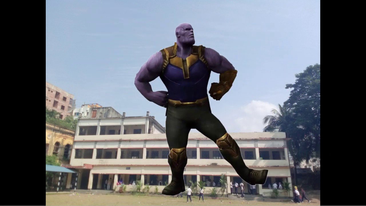 thanos and spider man dance - YouTube