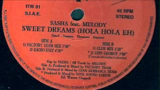 Sasha feat. Melody - Sweet Dreams (Radio Edit)