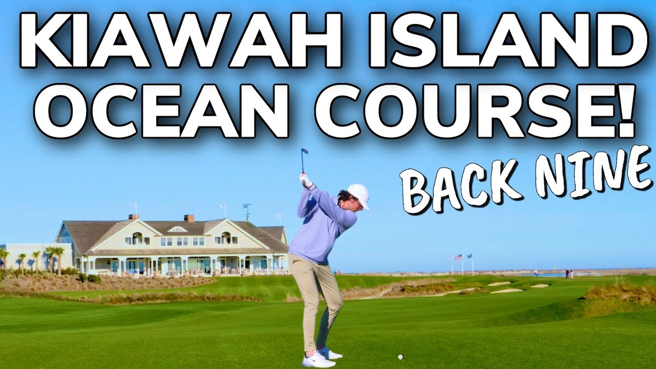 The HARDEST Nine Holes in Golf? Kiawah Island Ocean Course From The Tips! Home of 2021 PGA (Part 2)