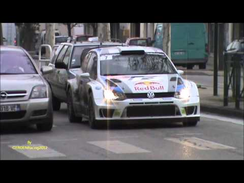 J M LATVALA - M ANTTILA POLO R WRC VOLKSWAGEN liaison Rallye Monte Carlo 2013 fia wrc [HD]