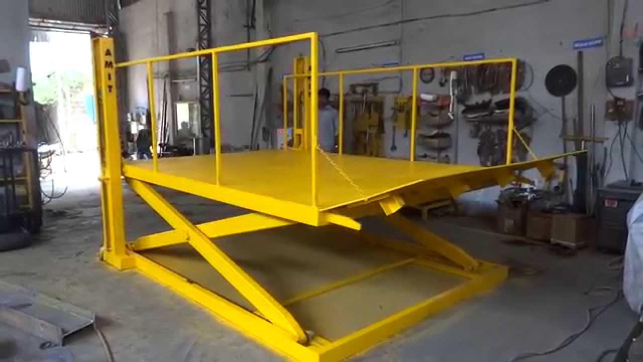 Low Profile Scissor Lift Table Youtube