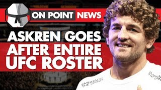 Askren Goes After UFC Roster, Rockhold's 'Nightmare' Injury, UFC Fighter Involved In A Hit & Run