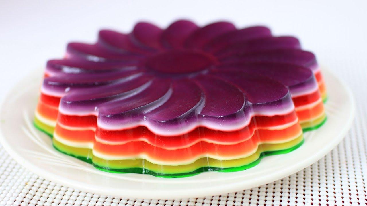 Cake Recipe Cake Jello: Rainbow Jello Recipe