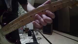 Qotsa Smooth Sailing Guitar cover + Lesson