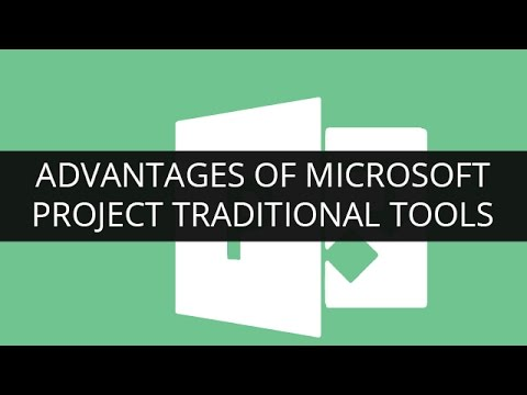 Advantages of Microsoft Project over Traditional Tools | Edureka. Watch Sample Class Recording: http://www.edureka.co/msp?utm_source=youtube&utm_medium=referral&utm_campaign=advantages-msp Microsoft Project has many advanta.... Youtube video for project managers.